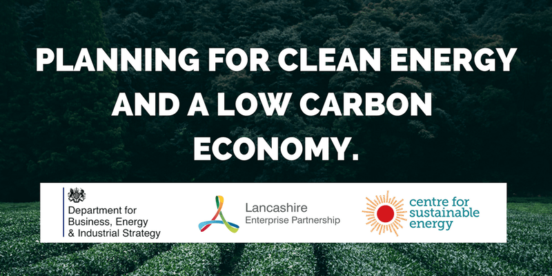 Freen Clean Energy Low Carbon Conference Preston